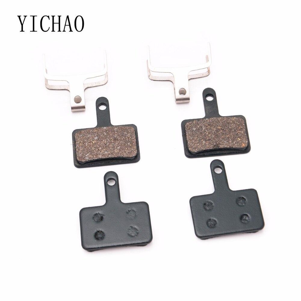 2 Pairs Bicycle Resin Disc Brake Pads For SHIMANO Deore M515/M475/M395/M525/C501/C601/TEKTRO Auriga/Aquila/Gemini/HDC300/PROMAX