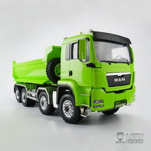 1/14 truck MAN (TGS) 8X8 hydraulic U bucket dump truck model high torque LS-20130016 RCLESU Tamiya dump truck double acting hydraulic pump 12v dump trailer 3 quart plastic reservoir for dump trailer