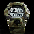 Skmei 2017 Мода Повседневная Спортивные Часы Человек Люксовый Бренд G стиль Мужчины Кварцевые Военные Цифровые Часы Мужчины Reloj relógio s шок