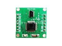 [[Bella] sensor de inclinación de doble eje módulo 90 grados ángulo sensor/prueba Software-2 unids/lote