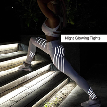 Sports Trousers Fitness Leggings Women Sport Quick Dry Running Pants Quick Dry Night Glowing Tights Leggings Fitness
