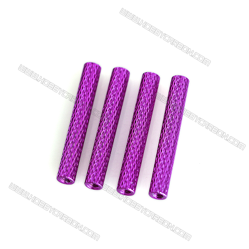 300pcs M3x5.0x35mm free shipping Aluminum standoff spacer column knurled Alloy stud nuts RC Multirotors Anodized цены