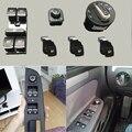 6 unids/set Maestro Ventana interruptor Para VW Faro Espejo Lateral interruptor de la puerta juego para VW Golf MK5 6 Jetta MK5 Passat b6 CC Golf