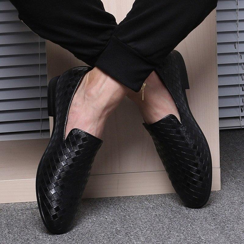 Black Leathe Loafer
