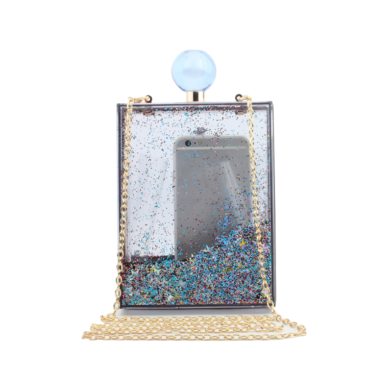 Small Transparent Acrylic Clutch Perfume Bottle Bags Lady Evening Clutch Bags Chain Clutches Women Crossbody Bag small transparent acrylic clutch perfume bottle bags lady evening clutch bags chain clutches women crossbody bag