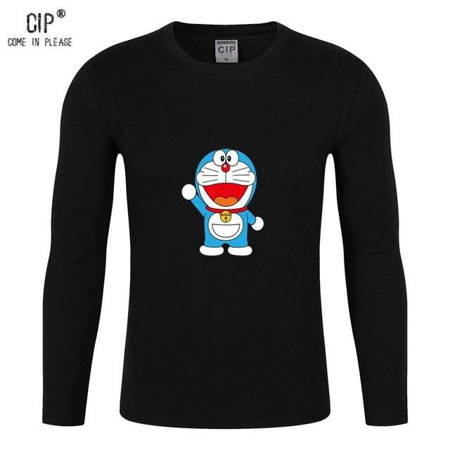 357e5e08a CIP Brand Doraemon Long Sleeve Children T Shirt Cute Cat Boys Girls T  Shirts Kids Spring and Summer Wear Cartoon Tee Shirts CL05