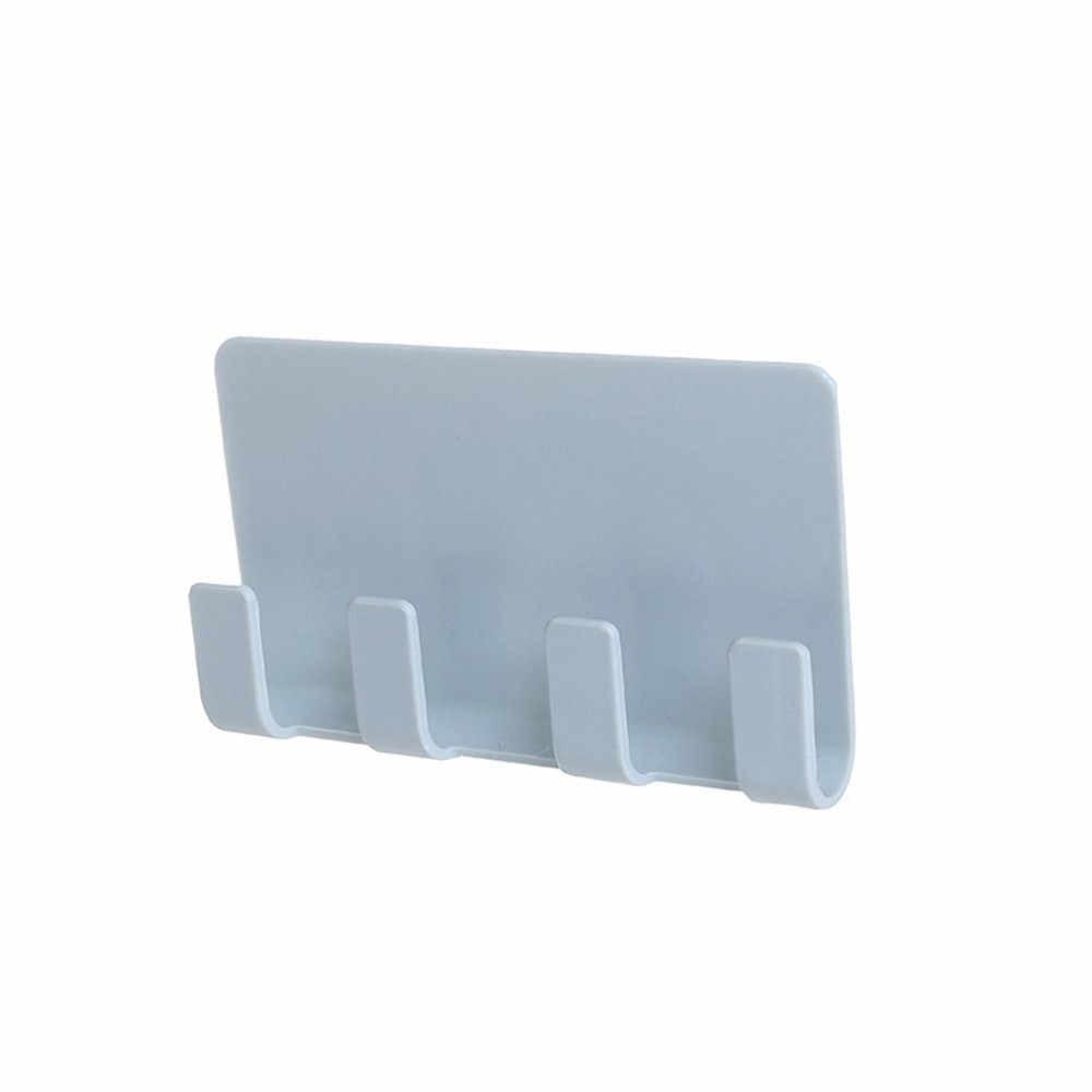 Держатель для мобильного телефона зарядное устройство настенный 4 крючка крючок для склада стойка для ванной подвесной держатель Подставка для зарядки мобильного телефона Y5