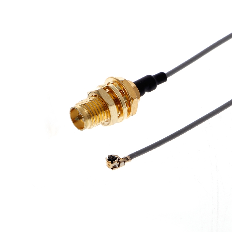 868MHz 5dBi RP-SMA Male Wireless Antenna Router Antenna+15cm RP SMA Female to IPX 1.13 Cable