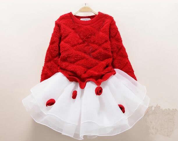 2018 mode fleur fille été princesse robe enfant bébé filles fête mariage danse dentelle Tulle Tutu robes enfants vêtements chauds