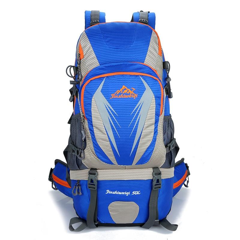 Sac d'alpinisme en plein air grande capacité loisirs camping sac à dos imperméable randonnée sacs à dos Sport sac à dos d'escalade