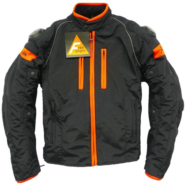 Мужчины мотоцикл куртка Бесплатная Йогина новый стиль Водонепроницаемый Ветрозащитный пальто два цвета спортивные костюмы с Съемный хлопок желчного