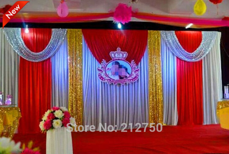 Wedding Stage Decoration Price : Aliexpress buy express free shipping wedding stage