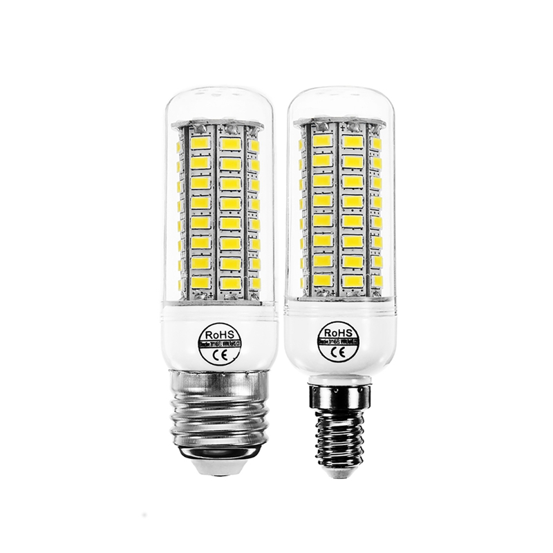 Lowest Price 5730 SMD 72 leds LED Lamp Bulb E27 E14 Pure Warm White LED Corn Light Bulb Chandelier Home Decoration Lighting