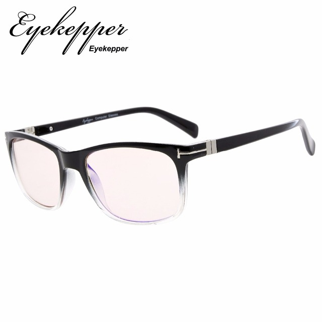 76d08ab37d4d CG150 Eyekepper Fashion Reading Eyeglasses with UV  Protection,Anti-reflective Readers for Computer,Yellow Tinted Lenses