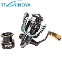 Trulinoya Jaguar1000 Spinning Fishing Reel 9 1BB 5 2 1 Double Spools Lure Wheel Moulinet Peche