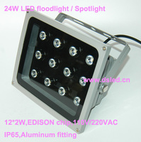 CE IP65 Good Quality High Power 24W Outdoor LED Projector Light LED Floodlight DS TN 05