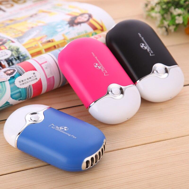 Mini ventilador Mini mano Portable escritorio aire acondicionado humidificación enfriador ventilador para el hogar aire máquina aparato