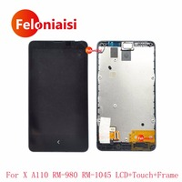 High Quality 4 0 For Nokia X A110 RM 980 RM 1045 Full Lcd Display With