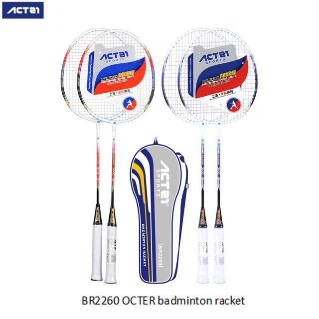 ACTEI Badminton Racket New Best-selling Racket Ultra Light Carbon Iron Alloy Badminton Racket Set