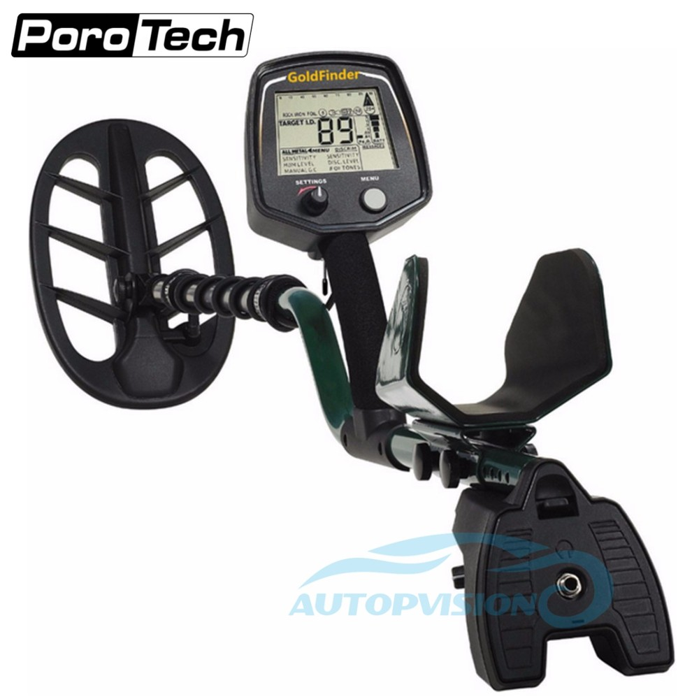 Professional Gold Finder GF2 Underground Metal Detector With Gold High Sensitivity And LCD Display Nugget Gold Detector
