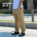 Hot New Fashion Plus Size Men Pants Fit Cotton jogger pants summer style Sweatpants Men's Trousers Sport cargo Pants S-XXL khaki