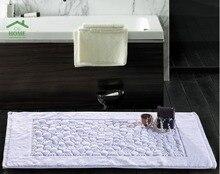 2016 Отель банные полотенца хлопок ванна коврик ванная комната туалет абсорбент коврики толщиной хлопок 50*83 см
