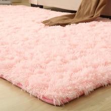 Alfombras lisas de 9 colores, alfombrilla de baño más gruesa, alfombra antideslizante para sala de estar, alfombra suave para dormitorio infantil Vloerkleed