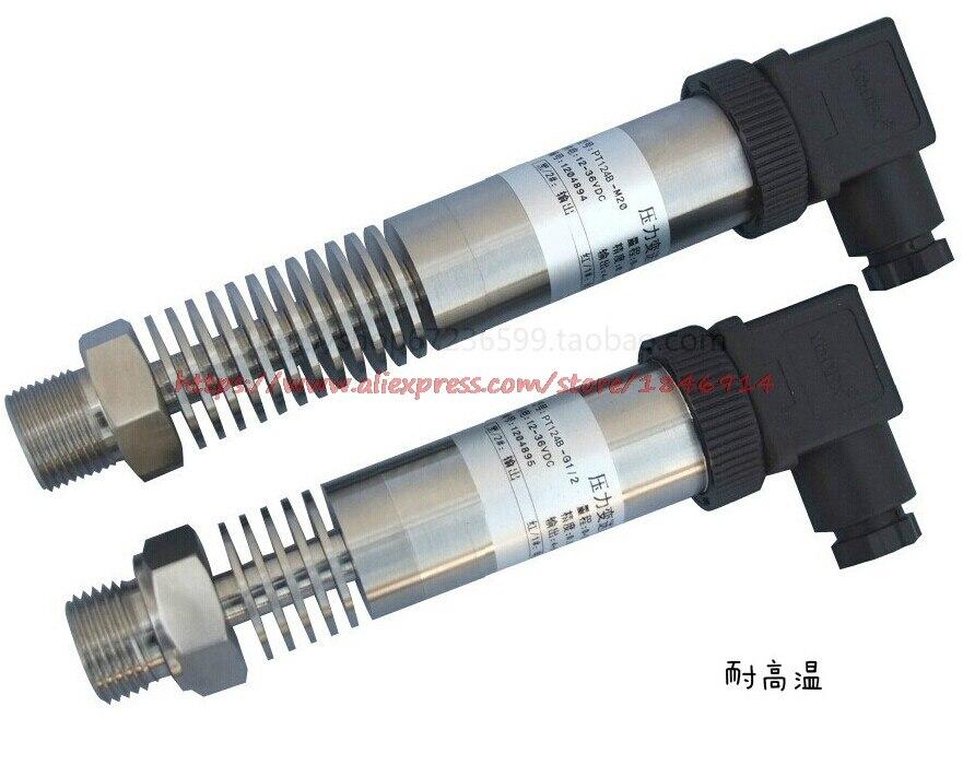 Free shipping     High temperature pressure transducer sensor  PT124B 4-20mA 0-10V 0-5V 1MPAFree shipping     High temperature pressure transducer sensor  PT124B 4-20mA 0-10V 0-5V 1MPA