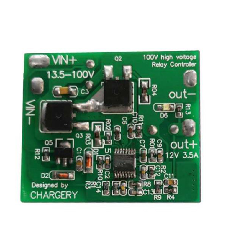 Battery Accessories Rdh3 High Voltage Relay Driver Module Dc 13.5-100v 3s To 24s Lipo Lifepo4 Li-ion Lto Battery 12v 3a With Led Indicator Chargery For Sale Batteries