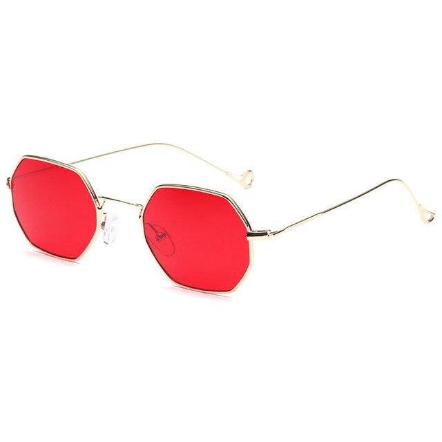 35dcf508556 Steampunk Goggles Lunette Women Hexagon Sunglasses Brand Designer Men  Carter Octagon Female Sun Glasses Driving Eyewear Oculos