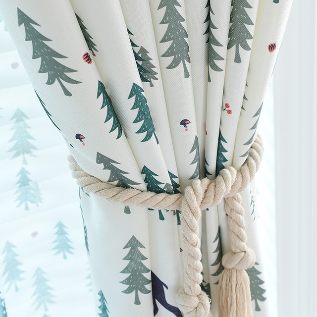 Winter Forest Curtains