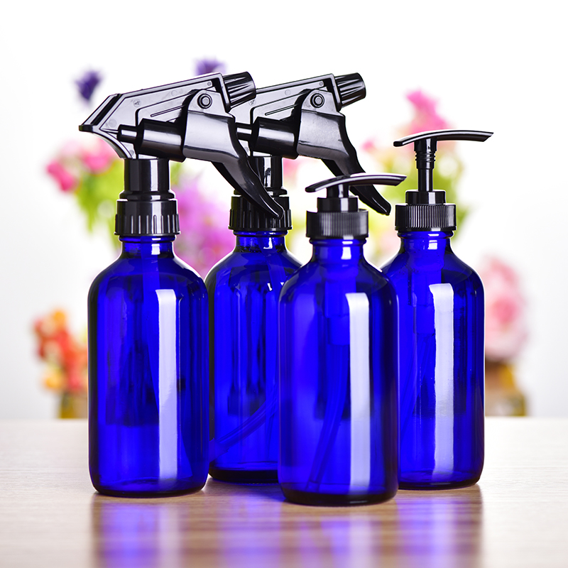 Refillable Portable Travel Perfume Spray Bottles Lotion Facial Cleanser Shampoo Shower Gel Bottle Cosmetic Container 240ml 4pcs aqua glycolic facial cleanser 6 ounce bottle