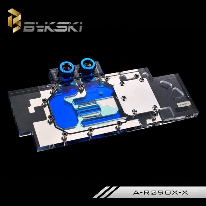 Bykski A-R290X-X R9 290X R290 VGA GPU Water Cooling Block Full Cover  цена и фото