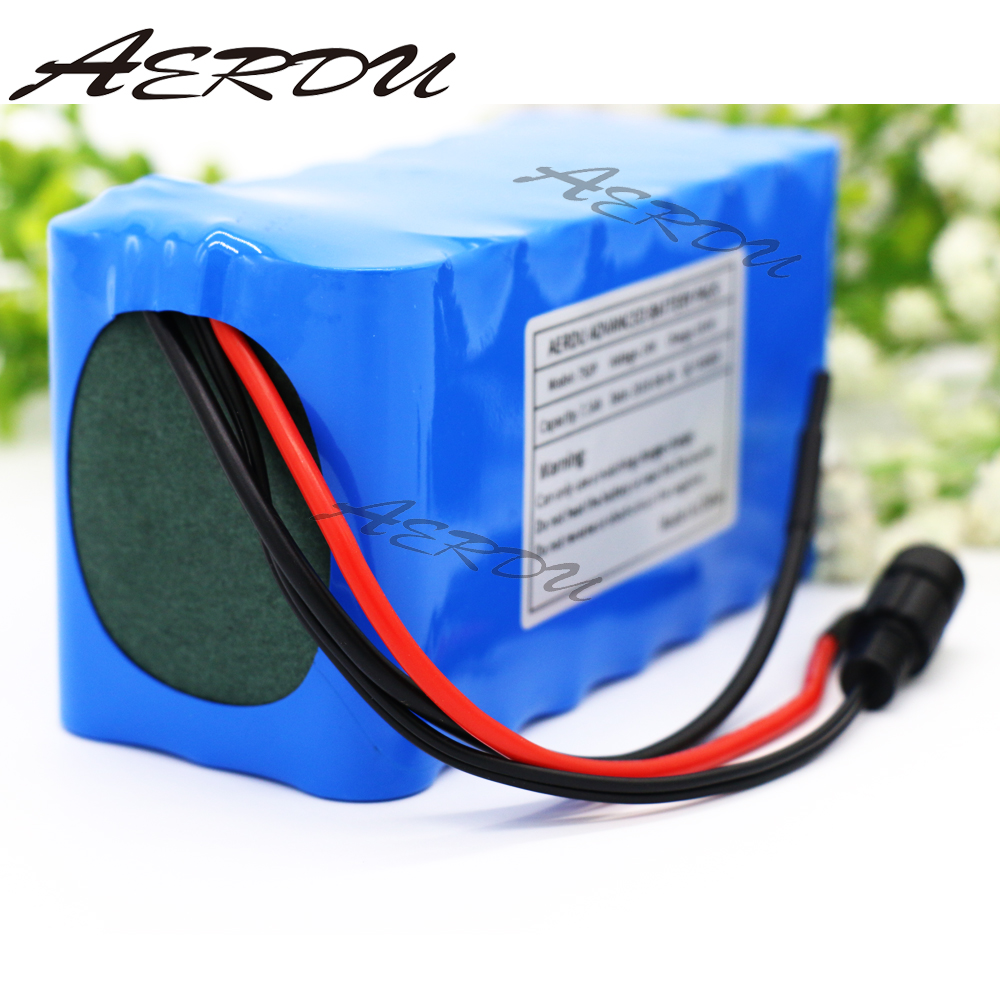 Aerdu 6s1p 24v 2.5ah 25.2v Li-ion Battery Pack Lithium Batteries For Electric Motor Bicycle Ebike Scooter Toys Drill With Bms Consumer Electronics