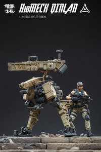 Image 5 - JOYTOY 1/25 action figure soldiers QINLAN and robot MECH gift present Free shipping