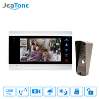 JeaTone 7 Video Doorphone Intercom System On Door Speakerphone Camera Home Security Video Door Phone Kit