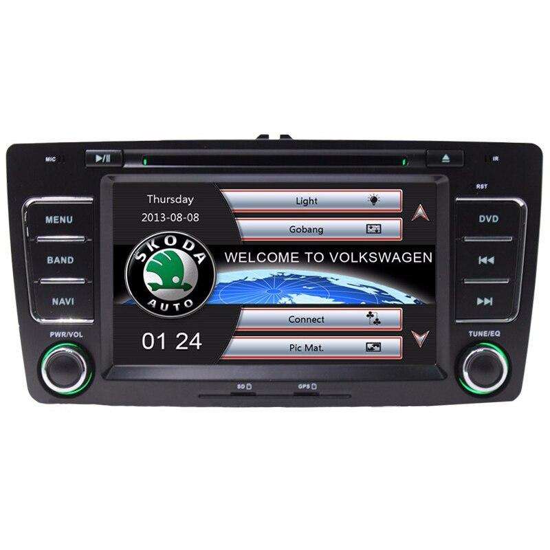 7 Inch Car DVD Radio Player GPS Navigation System for Skoda Octavia Laura 2004 2005 2006 2007 2008 2009 2010 2011 2012 2013 RDS