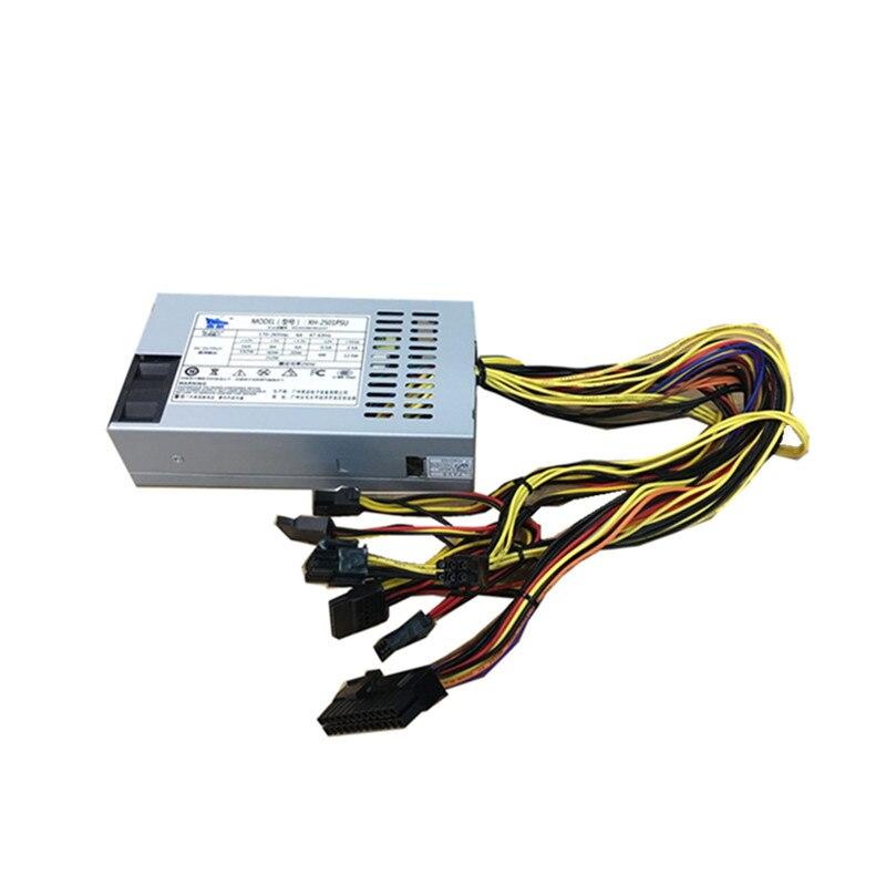 XINGHANG 250 W PC fuente de alimentación 250 W 1u alimentación flex atx MINI fuente de alimentación una máquina 6PIN efectivo registradora del servidor FLEX