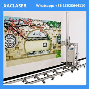 Outside 3D Wall Printer Machine Mural Decor Vertical Direct to Wall Printer For Sales
