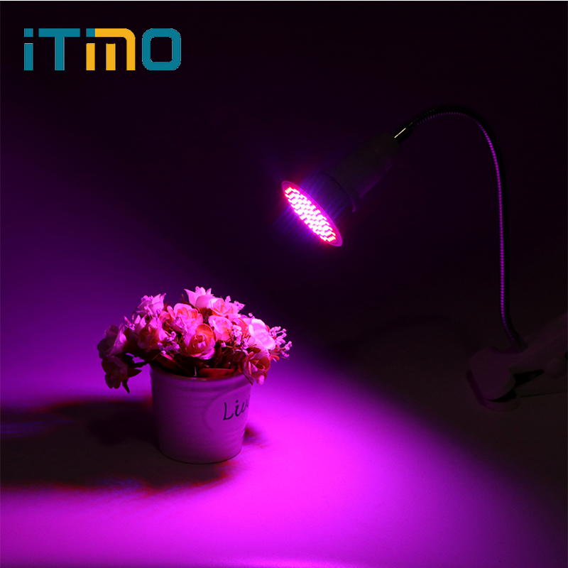 ITimo LED Growth Light Bulbs For Plant Flower vegetable Growing 6W 10W 20W E27 LED Plant Grow Light Indoor Greenhouse