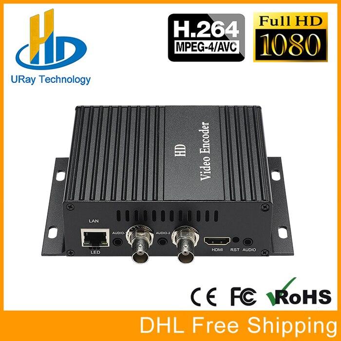 MPEG4 HDMI + CVBS + Stereo Audio To IP Encoder IPTV HD SD Video Audio Encoder H.264 Live Streaming Encoder Transmitter RTMP RTSP