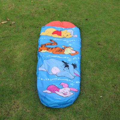 Cartoon Children Sleeping Sack Kids Sleeping Bag Autumn Winter Envelope Hooded Outdoor Travel Camping Waterproof Sleeping Bag ultra soft children kids cartoon toothbrush dental health massage 1 replaceable head outdoor travel silicone retractable folding