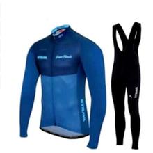 Новинка для мужчин Strava Спорт на открытом воздухе велосипед Велоспорт костюм гонки с длинным рукавом гель для трикотажа шорты наборы Roupa ciclismo bicicleta Одежда