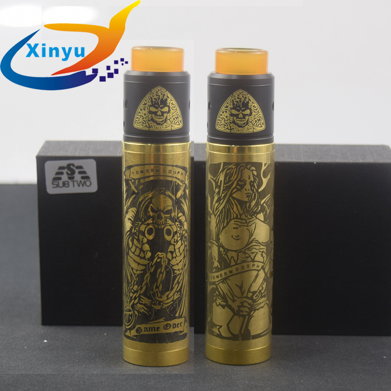US $10.45 5% OFF|Factory price NEWEST Tower Mech Mod kit 24mm brass Vaporizer Mod With Axis RDA Adjustable Airflow VAPE Vaporizer E Cigarette kit-in Electronic Cigarette Mods from Consumer Electronics on Aliexpress.com | Alibaba Group