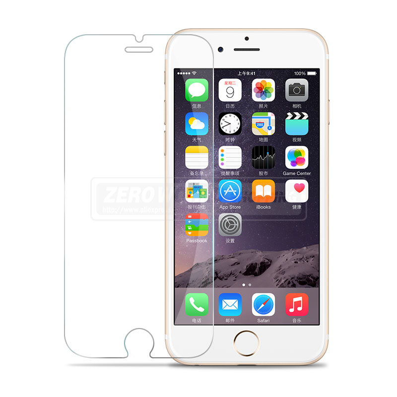 2.5D 0.3mm 9H Tempered Glass Screen Protector for iPhone 6 6s Plus / 7 7 Plus / 8 8 Plus Premium HD Toughened Protective Films