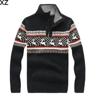 Free Shipping 2016 new High quality New Winter Men's Sweater pullover sweater men's choice SIZE s xxl