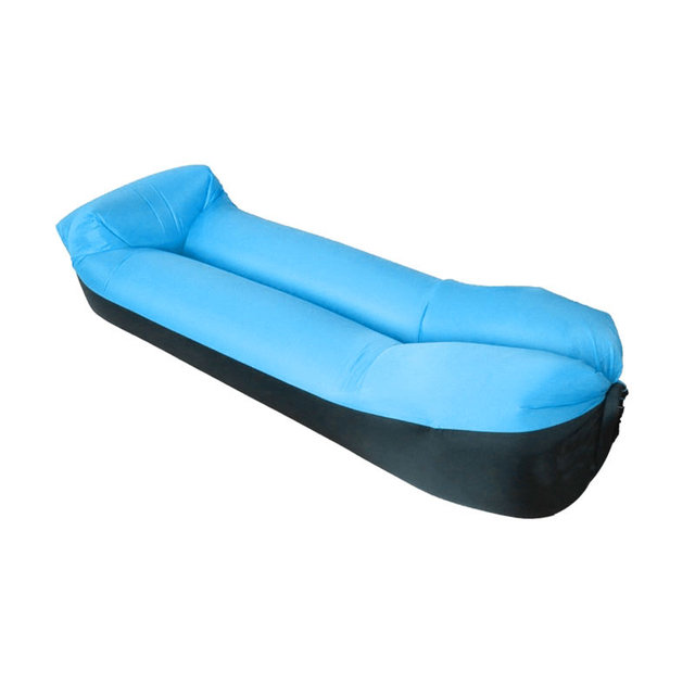 Inflatable Lounger Air Sofa Couch Hangout With Portable Carry Bag