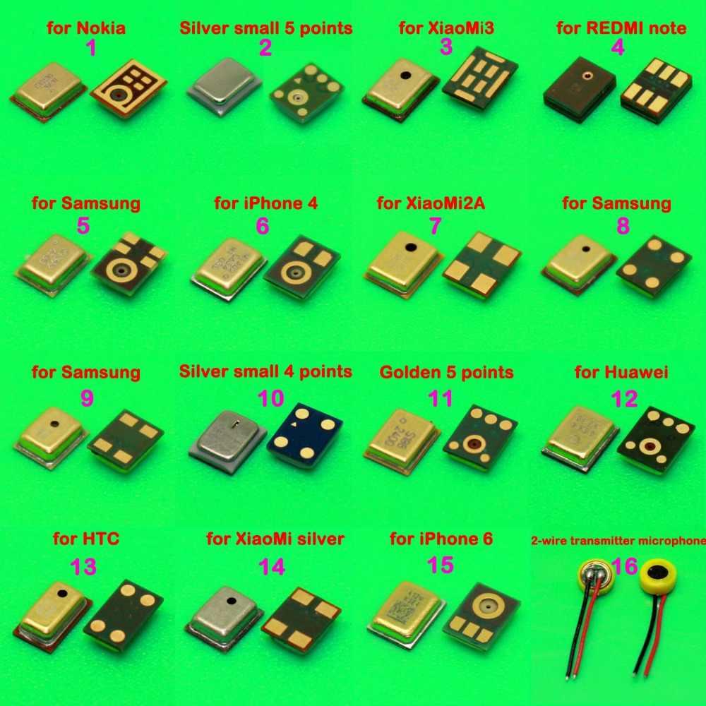 16 mô hình 1 CHIẾC Micro Bên Trong MIC Sửa Chữa Một Phần Cho Huawei Xiaomi Lenovo ASUS Motorola Moto G2 G3 G4 G5 x2 X + 1 X CHƠI G4 PLUS