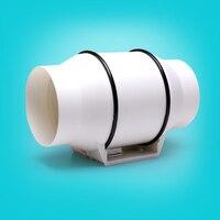 150MM Bathroom window exhaust fan, AC220V bathroom blower exhaust fan in 6 strong wind