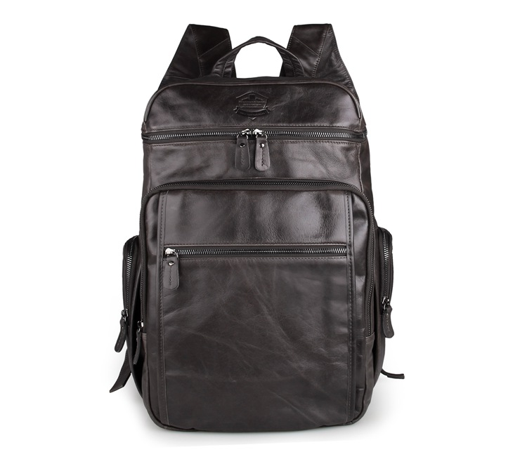 New Arrival 100% Excellent Genuine Leather Laptop Backpacks 7202I-1 new arrival 100